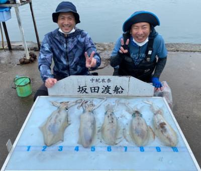 坂田渡船の2021年5月19日(水)5枚目の写真