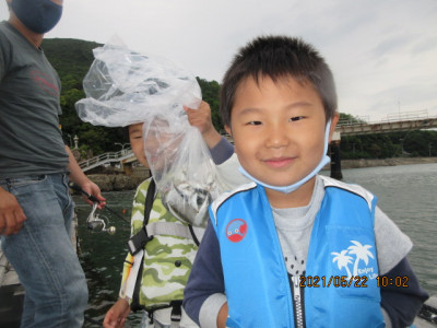 由良海つり公園&釣堀ランドの2021年5月22日(土)1枚目の写真
