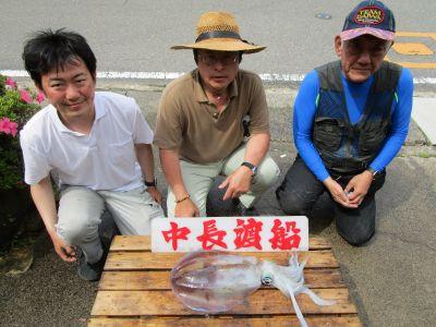 中長渡船の2021年5月22日(土)1枚目の写真