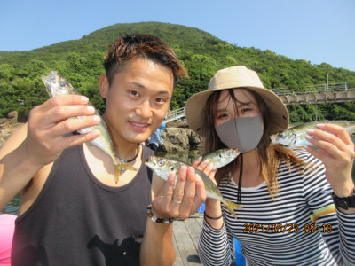 由良海つり公園&釣堀ランドの2021年5月23日(日)2枚目の写真