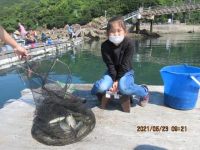 由良海つり公園&釣堀ランドの2021年5月23日(日)4枚目の写真