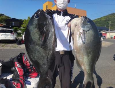 丸銀釣りセンターの2021年5月23日(日)1枚目の写真