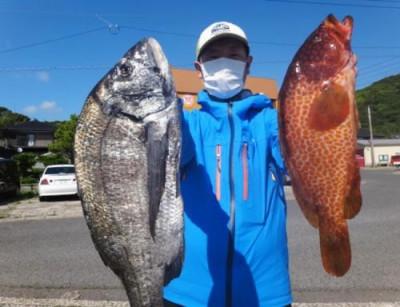 丸銀釣りセンターの2021年5月23日(日)3枚目の写真