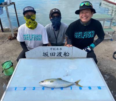坂田渡船の2021年5月22日(土)1枚目の写真
