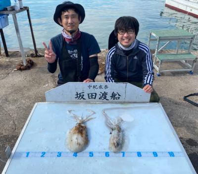 坂田渡船の2021年5月22日(土)2枚目の写真