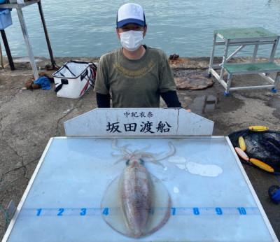 坂田渡船の2021年5月22日(土)5枚目の写真