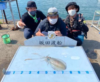 坂田渡船の2021年5月23日(日)1枚目の写真