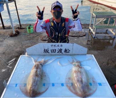 坂田渡船の2021年5月23日(日)5枚目の写真