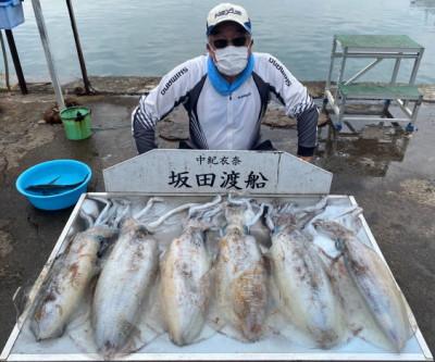 坂田渡船の2021年5月25日(火)3枚目の写真