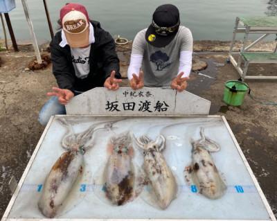 坂田渡船の2021年5月26日(水)1枚目の写真