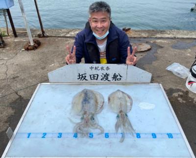 坂田渡船の2021年5月26日(水)2枚目の写真