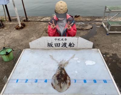 坂田渡船の2021年5月26日(水)5枚目の写真