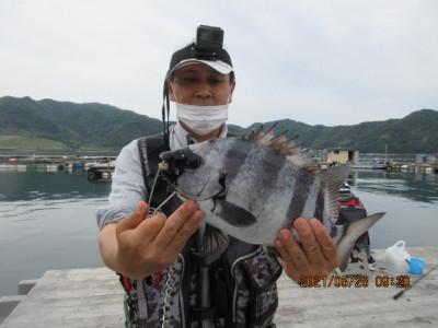 由良海つり公園&釣堀ランドの2021年5月28日(金)2枚目の写真