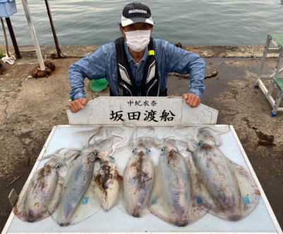 坂田渡船の2021年5月28日(金)2枚目の写真