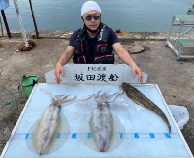 坂田渡船の2021年5月28日(金)4枚目の写真