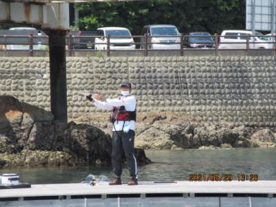 由良海つり公園&釣堀ランドの2021年5月29日(土)2枚目の写真