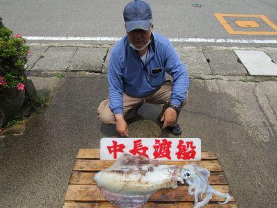 中長渡船の2021年5月29日(土)1枚目の写真