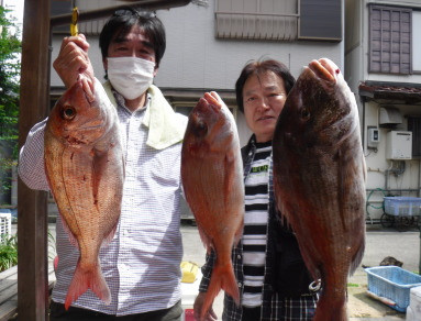 奥村釣船の2021年5月29日(土)4枚目の写真