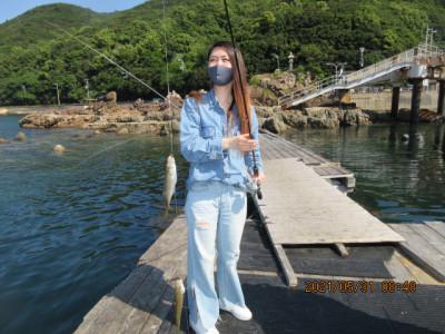 由良海つり公園&釣堀ランドの2021年5月31日(月)1枚目の写真