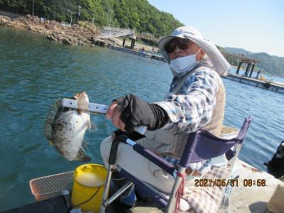 由良海つり公園&釣堀ランドの2021年5月31日(月)2枚目の写真