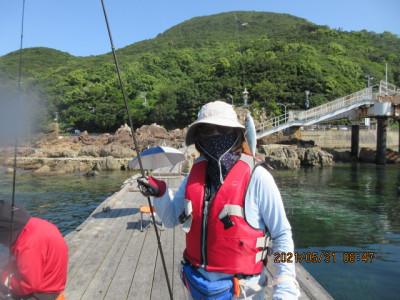 由良海つり公園&釣堀ランドの2021年5月31日(月)3枚目の写真