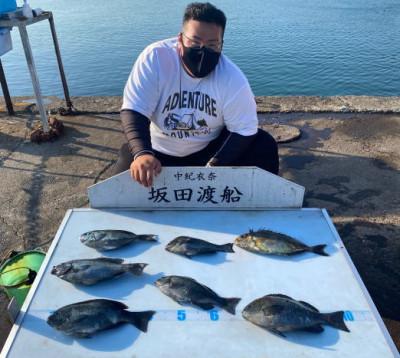 坂田渡船の2021年5月31日(月)3枚目の写真