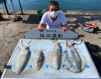 坂田渡船の2021年5月31日(月)5枚目の写真