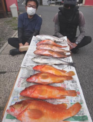 丸銀釣りセンターの2021年6月5日(土)4枚目の写真
