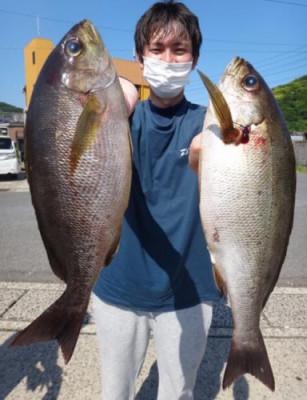 丸銀釣りセンターの2021年6月7日(月)2枚目の写真