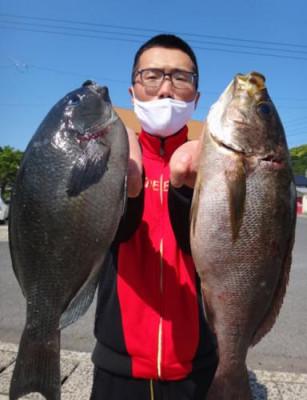 丸銀釣りセンターの2021年6月7日(月)4枚目の写真