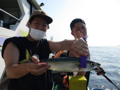 打木屋釣船店の2021年6月8日(火)3枚目の写真