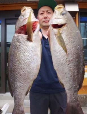 丸銀釣りセンターの2021年6月13日(日)2枚目の写真