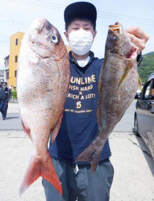 丸銀釣りセンターの2021年6月14日(月)1枚目の写真