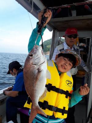 釣り船くわだの2021年6月13日(日)1枚目の写真