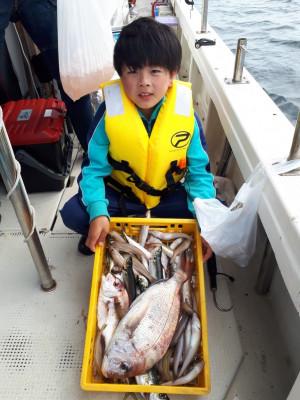 釣り船くわだの2021年6月13日(日)2枚目の写真