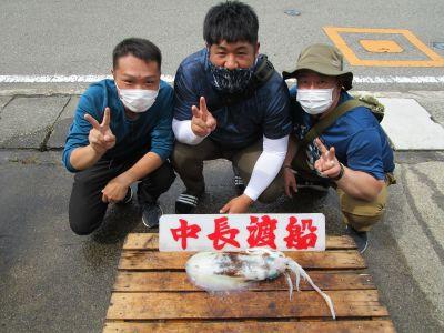 中長渡船の2021年6月20日(日)1枚目の写真
