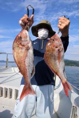 西岡遊漁の2021年6月21日(月)5枚目の写真