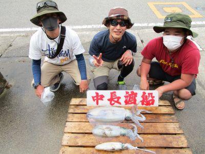 中長渡船の2021年6月25日(金)1枚目の写真