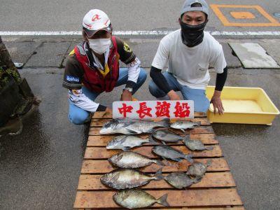 中長渡船の2021年6月26日(土)2枚目の写真