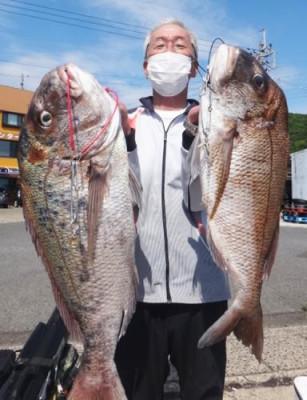 丸銀釣りセンターの2021年6月28日(月)2枚目の写真