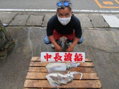 中長渡船の2021年6月30日(水)2枚目の写真
