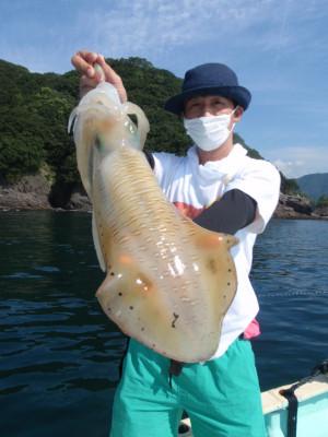 釣り船 久勝丸の2021年7月9日(金)1枚目の写真