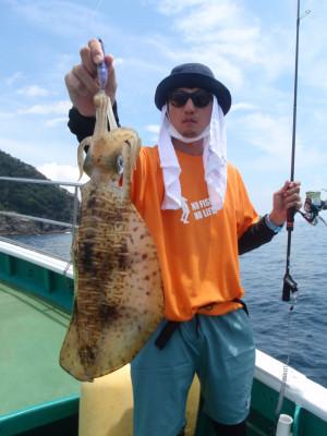 釣り船 久勝丸の2021年7月10日(土)3枚目の写真