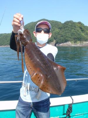 釣り船 久勝丸の2021年7月11日(日)2枚目の写真