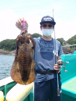釣り船 久勝丸の2021年7月15日(木)4枚目の写真