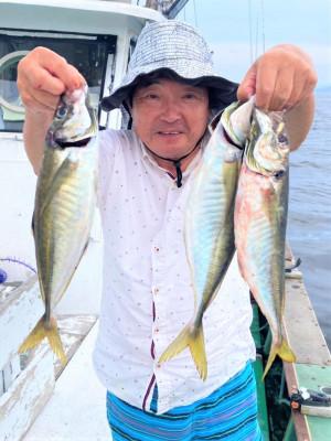 泉佐野マリンライフ(仁王丸・宝来丸・黒潮丸)の2021年7月14日(水)2枚目の写真