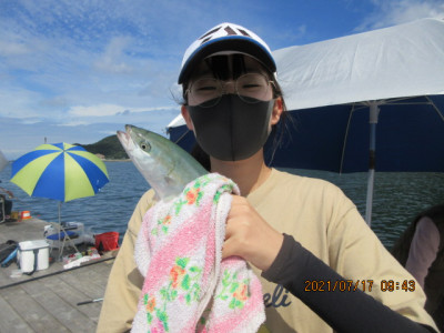 由良海つり公園&釣堀ランドの2021年7月17日(土)1枚目の写真