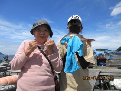 由良海つり公園&釣堀ランドの2021年7月17日(土)2枚目の写真