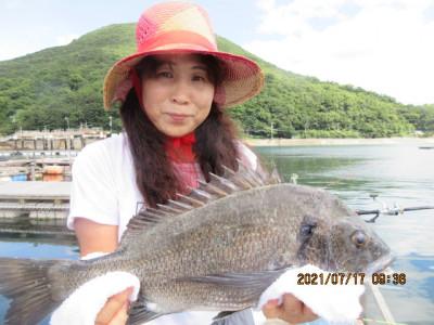 由良海つり公園&釣堀ランドの2021年7月17日(土)3枚目の写真