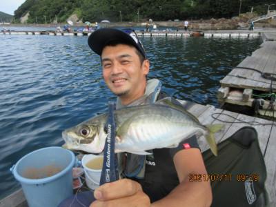 由良海つり公園&釣堀ランドの2021年7月17日(土)4枚目の写真